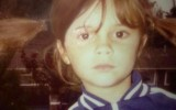 The childhood photo of Victoria Beckham
